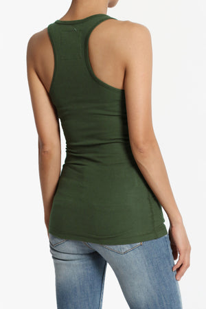 Roxie Racerback Ribbed Tank Top PLUS