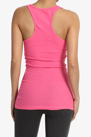 Roxie Racerback Ribbed Tank Top More Colors - TheMogan
