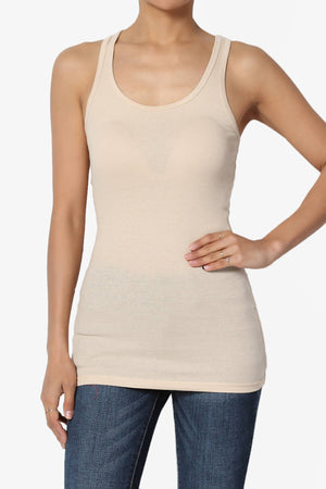 Roxie Racerback Ribbed Tank Top ADD COLOR - TheMogan