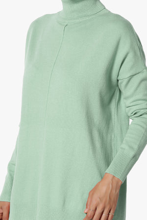 Henley Turtle Neck Sweater