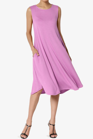 Ivetta Sleeveless Pocket Swing Dress