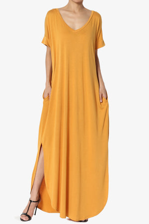Lunar Pocket T-Shirt Maxi Dress ADD COLOR