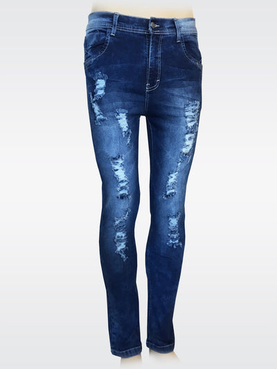 Bluette's Skinny Jeans - Ripped