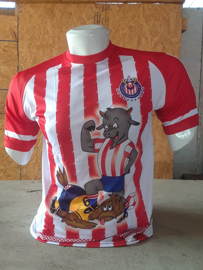 Chivas Football Jersey - Comic Edition