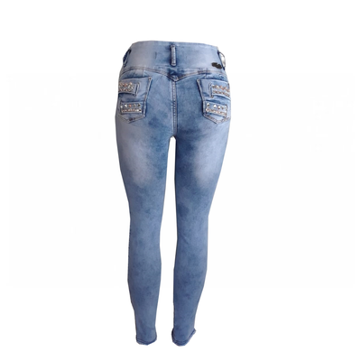 Bluette's Push-Up Skinny Jeans PEARL MODEL