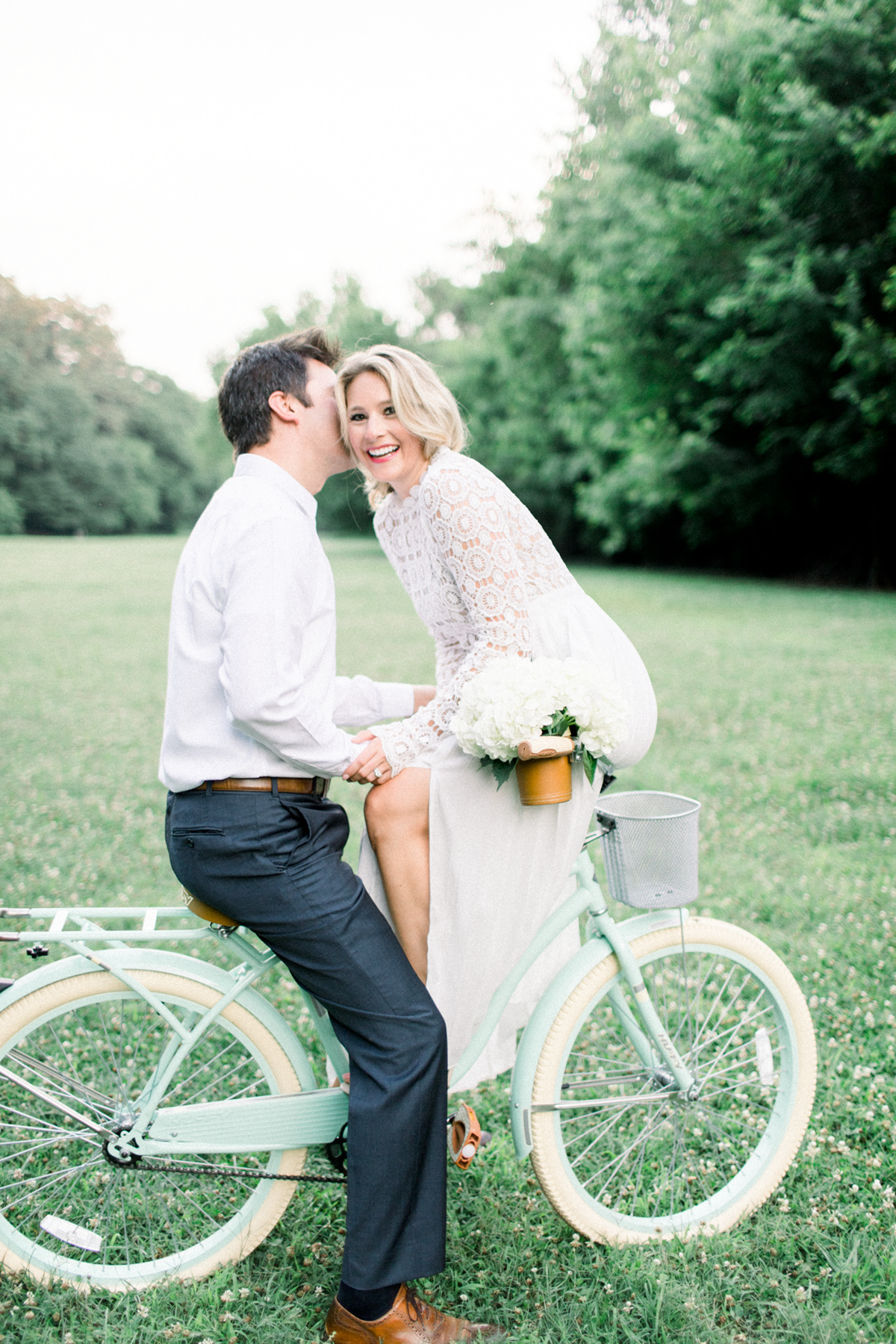 3 reasons why you should wear a LWD for engagement photos