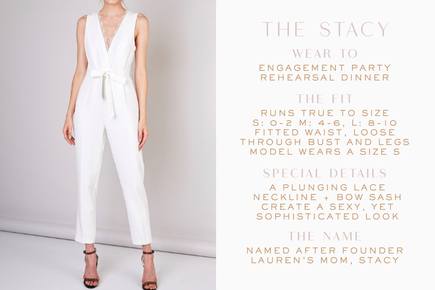 white bridal jumpsuit_Eternal Ivory