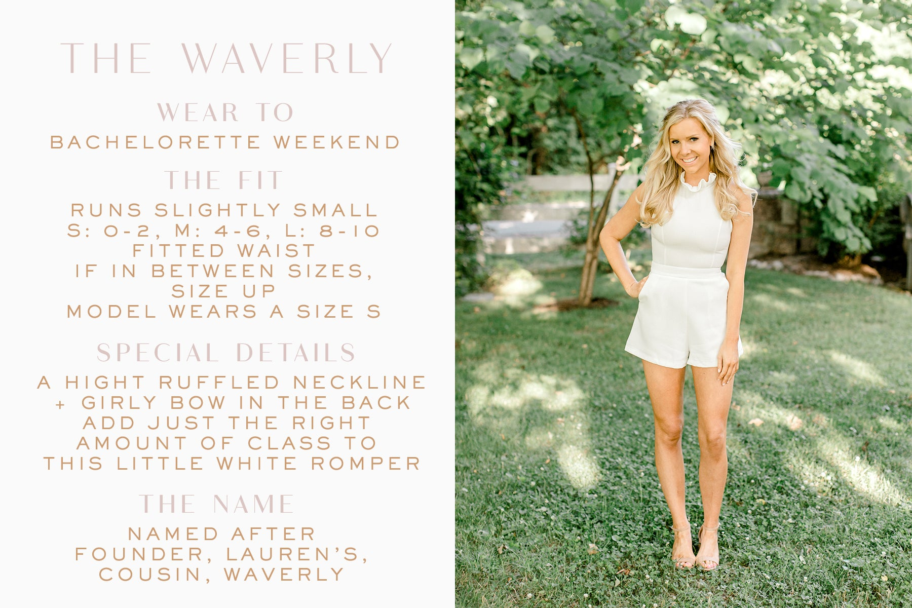 little white romper_bridal romper_bachelorette romper_Eternal Ivory