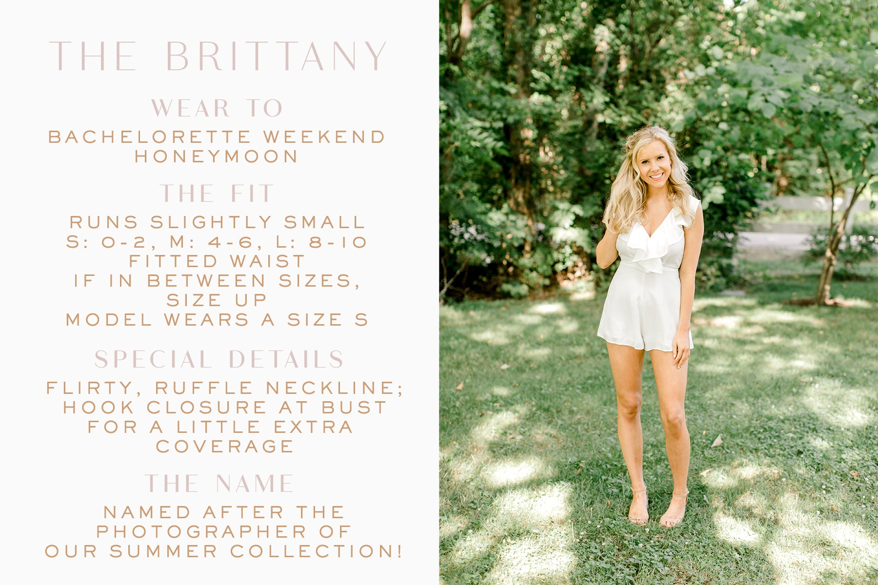 little white romper_bachelorette romper_Eternal Ivory