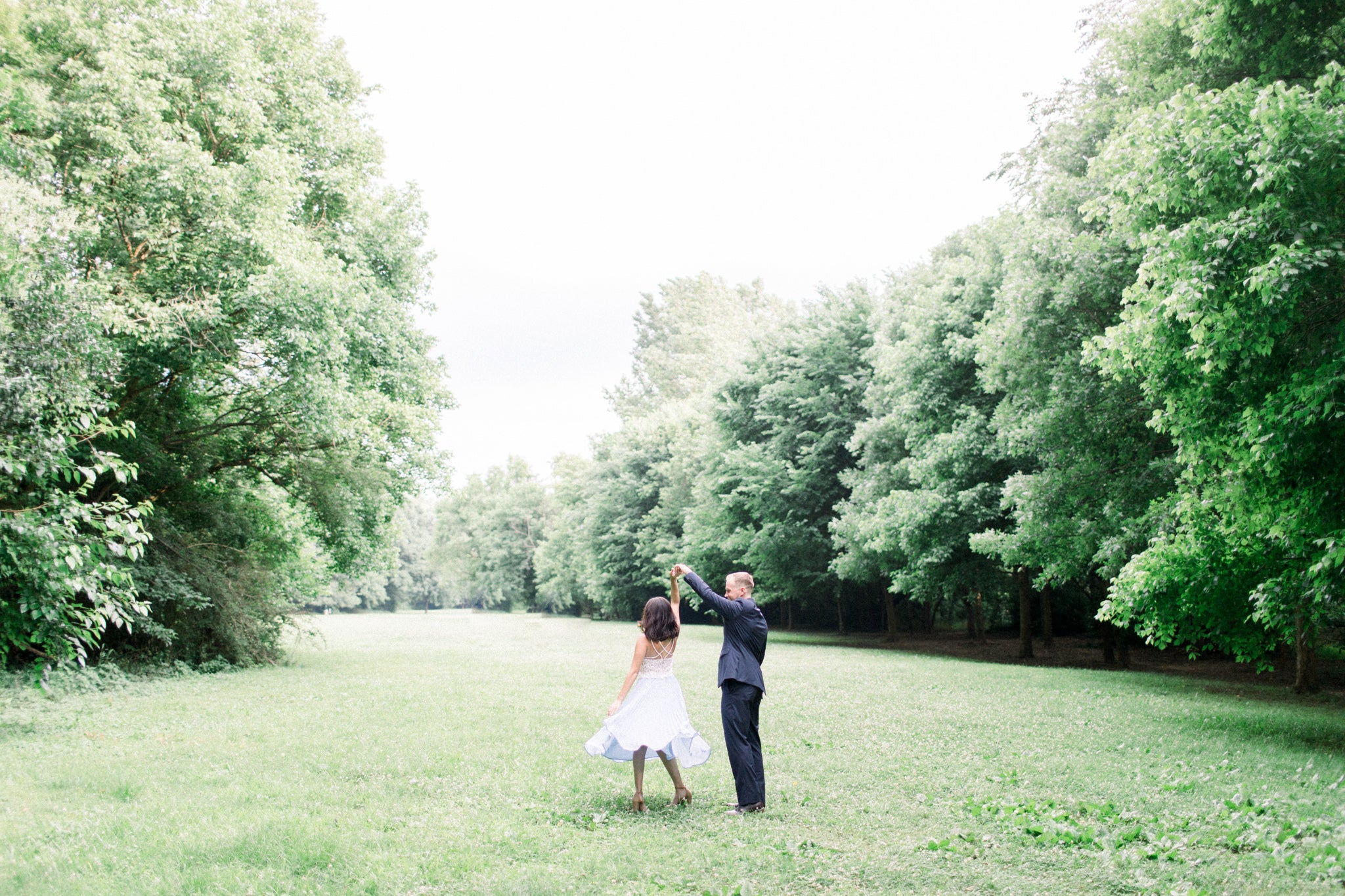 3 reasons why you should wear a lwd for engagement photos eternal ivory