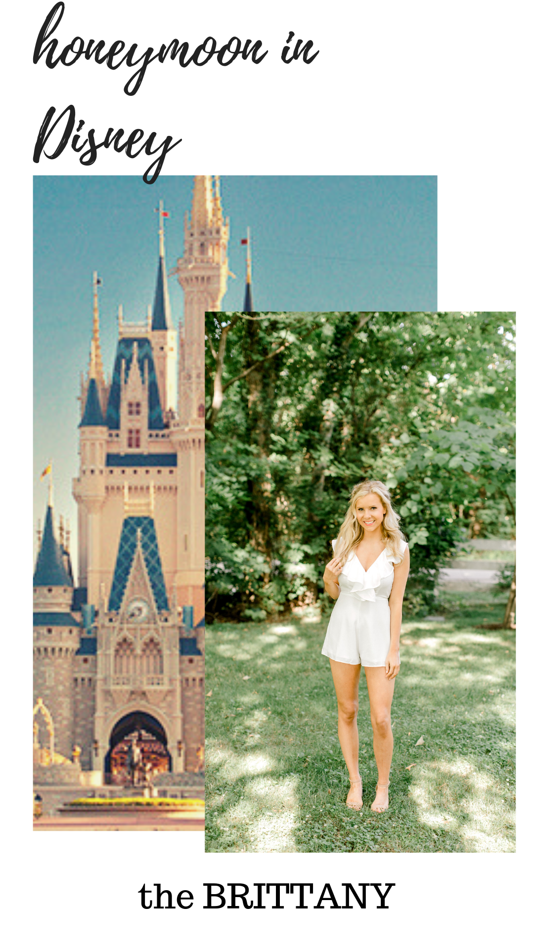 What to Pack for Your Honeymoon in Disney - White Honeymoon Romper
