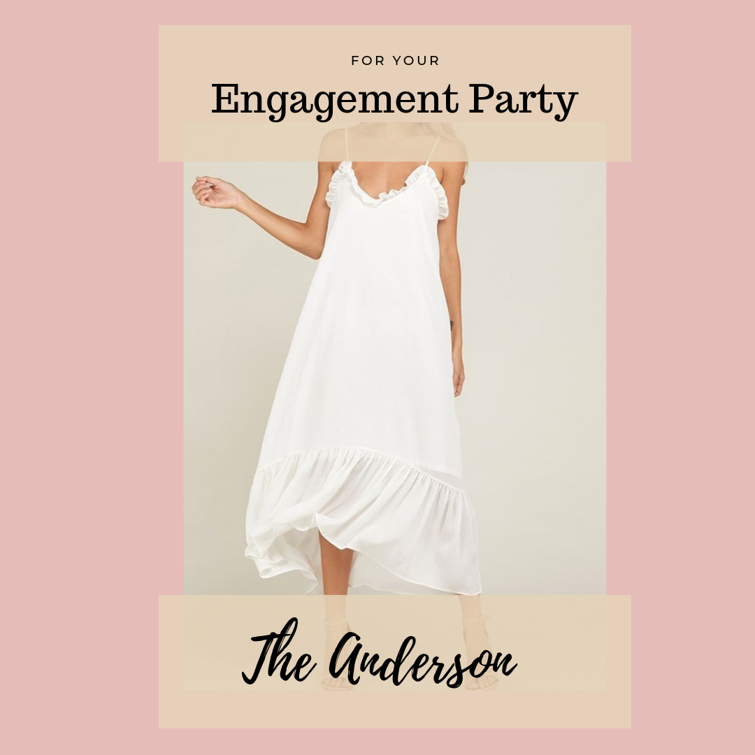 All the Bridal Dresses You Never Knew You Needed with Eternal Ivory - An Engagement Party Dress