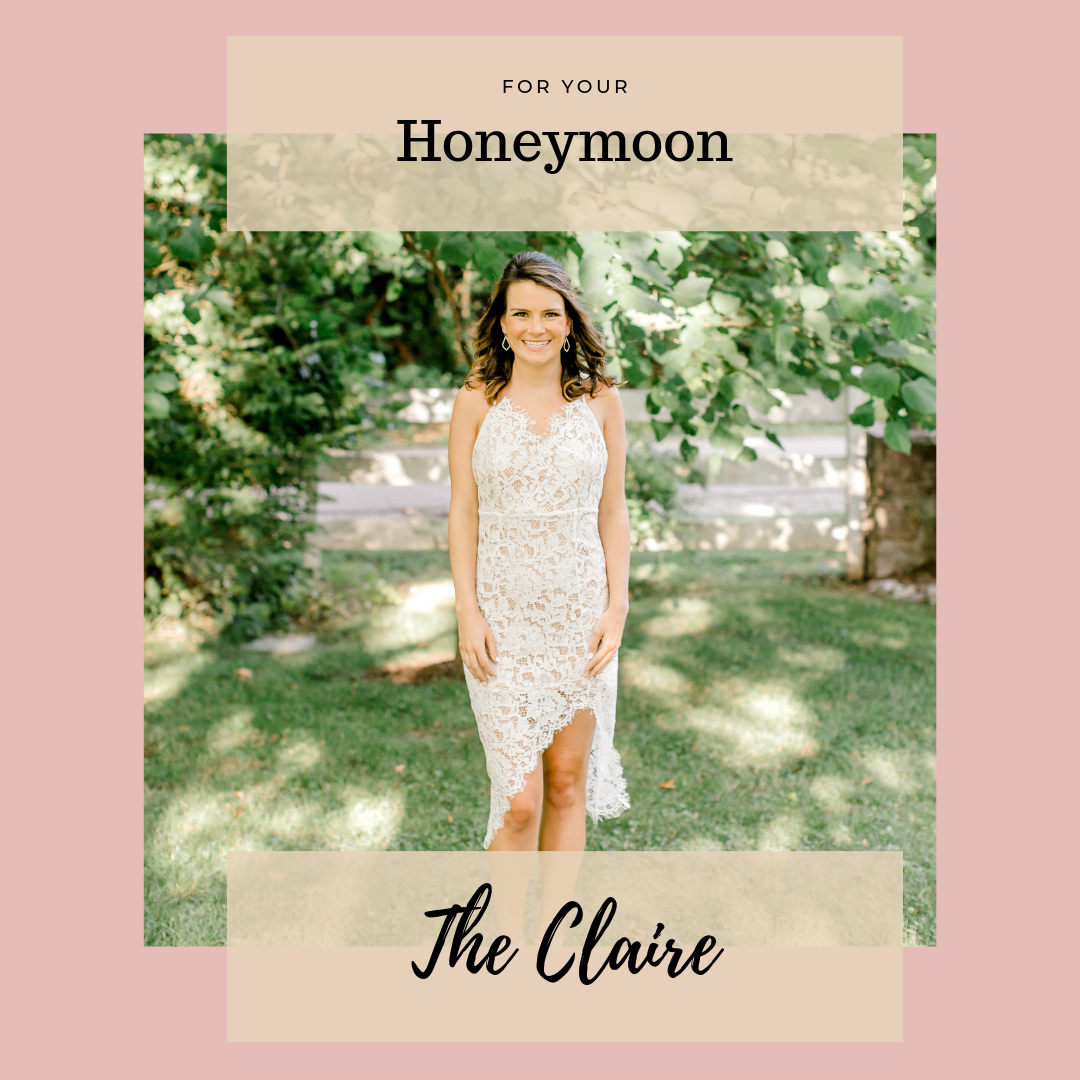 All the Bridal Dresses You Never Knew You Needed with Eternal Ivory - Honeymoon Dress