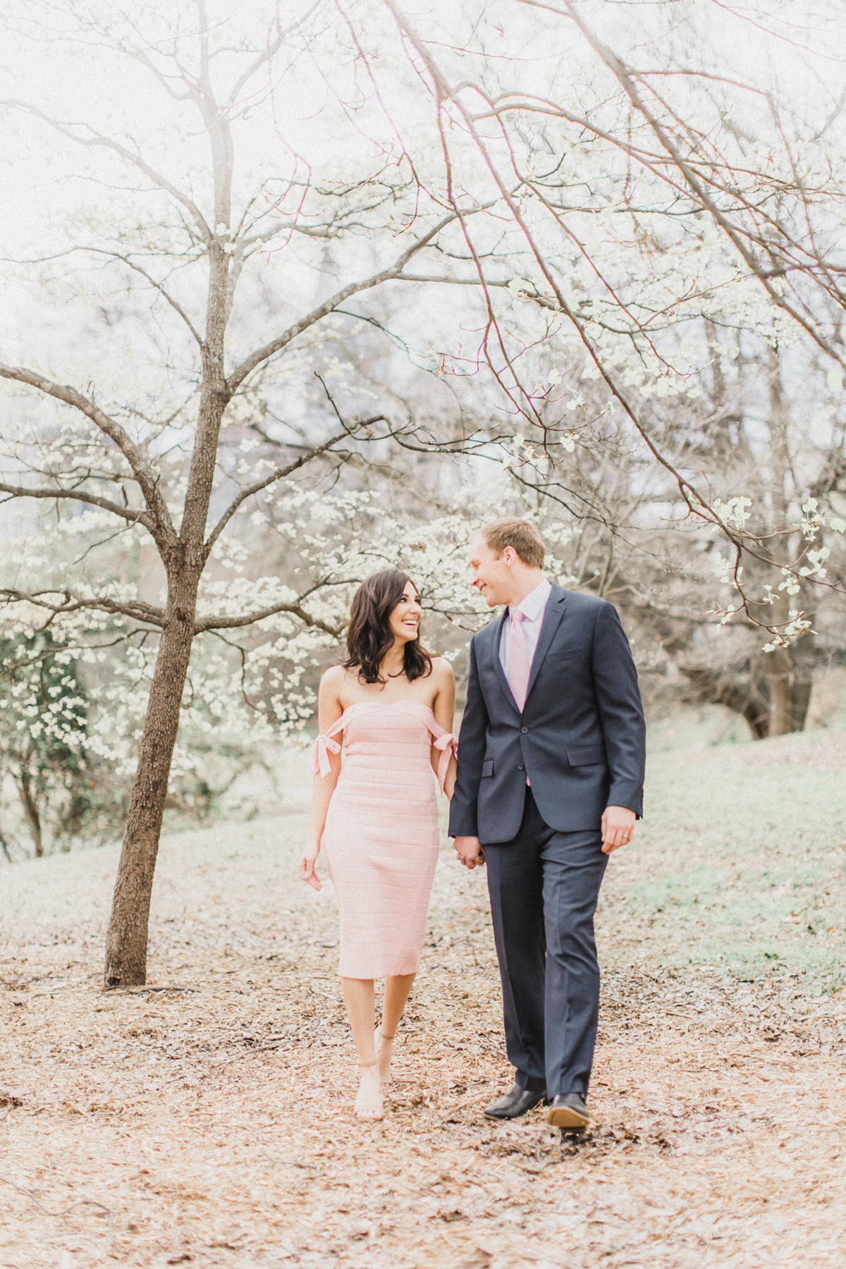 What to Wear for Valentine's Day | Pink Dress | Couple in Love | Eternal Ivory