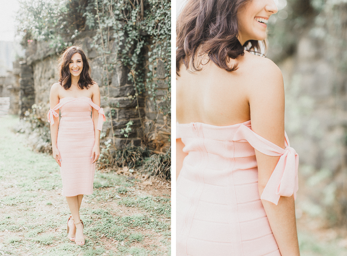What to Wear for Valentine's Day | Pink Dress | Eternal Ivory