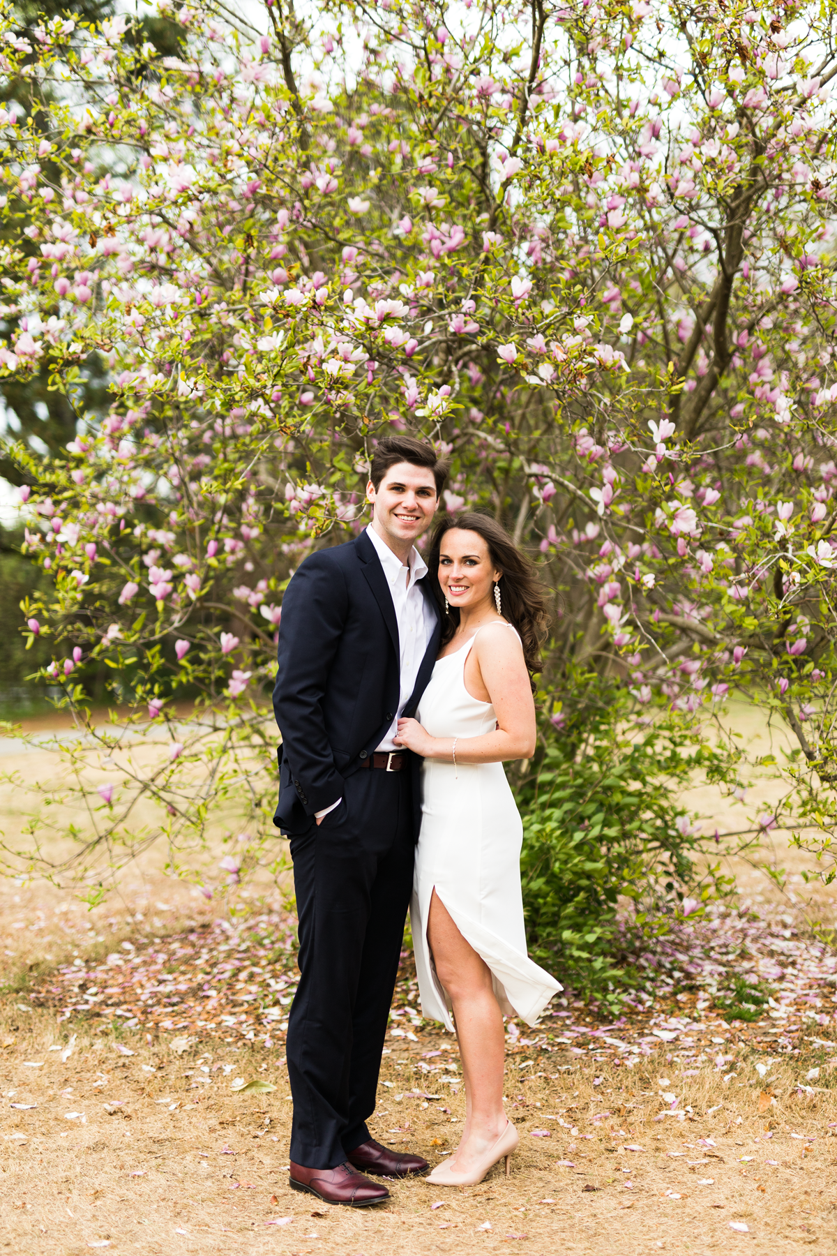 engaged couple shoot_little white dress for rehearsal dinner_Eternal Ivory