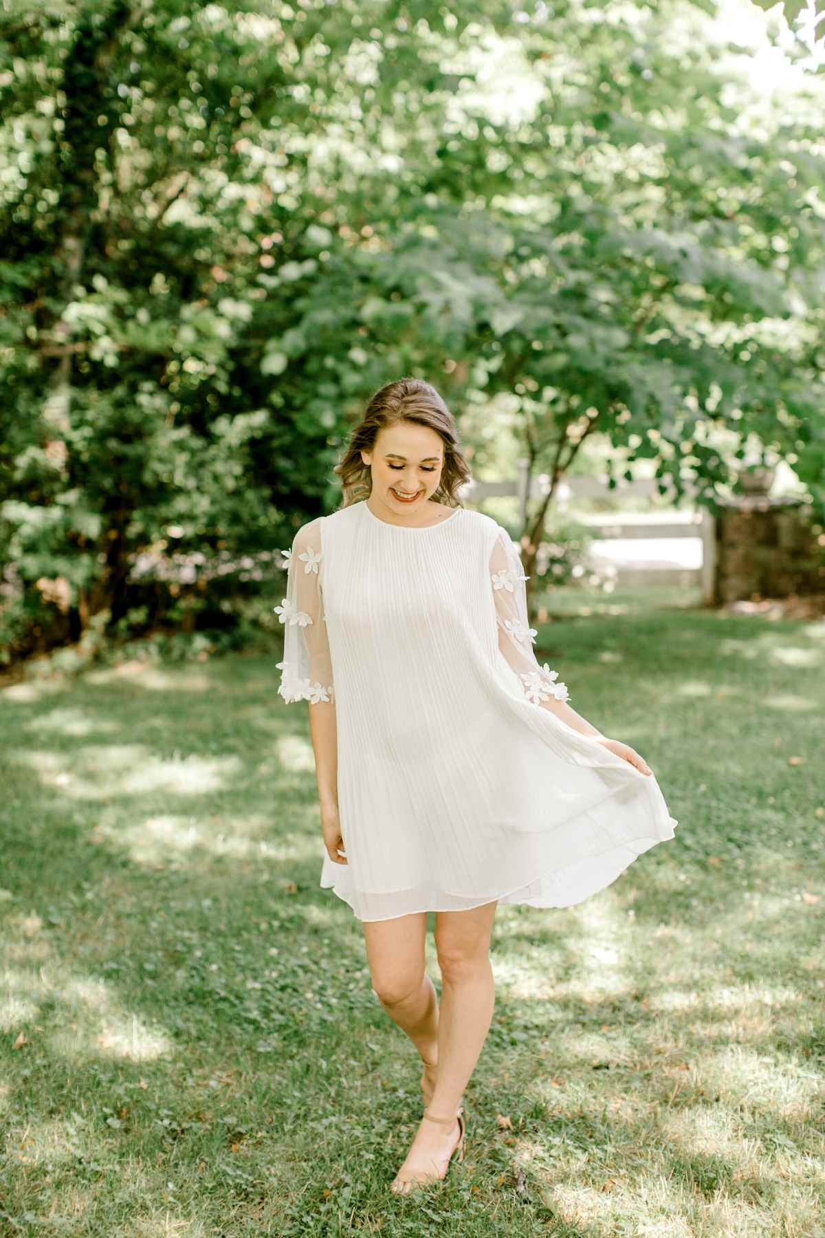 Lina | The Perfect Little White Dress