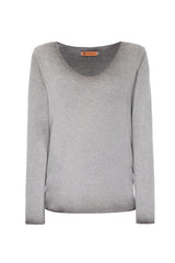 Grey Lurex Sweater