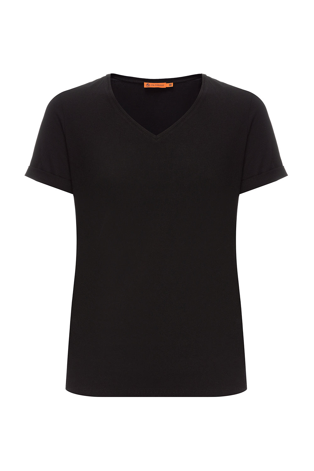 Black Cotton T-shirt
