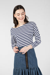 Knitted striped longsleeve