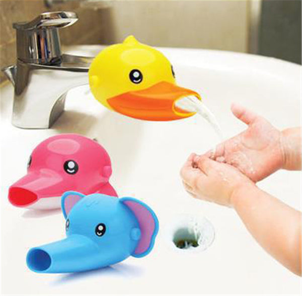 Animal Shaped Faucet Extender for Kids