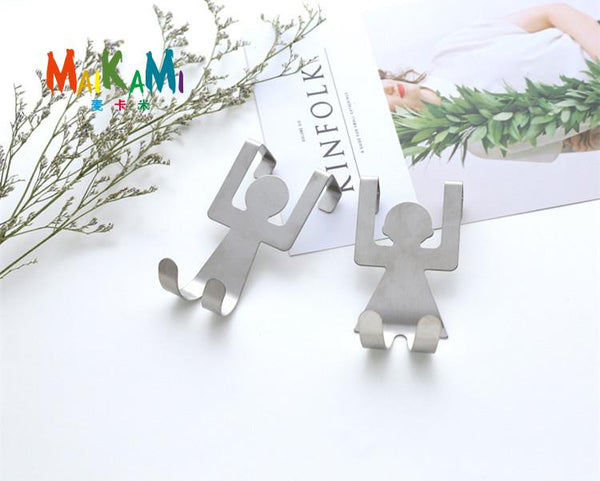 ... 2 Piece Boy Girl Cute Kitchen Hooks For Towels Or Spoons ...