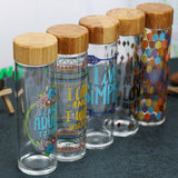 Bamboo Glass Water Bottle