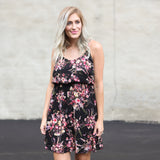 Lanie Floral Print Dress - boutique fashion - The Girls In Grey