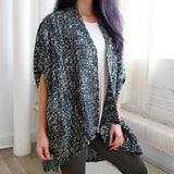 Willow Open-front Kimono - boutique fashion - The Girls In Grey