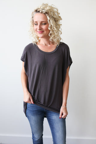 Ashley Dolman Top - boutique fashion - The Girls In Grey