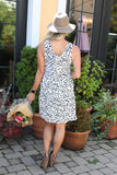 Allison Tiered Dress - boutique fashion - The Girls In Grey