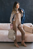 Carlie Overalls - boutique fashion - The Girls In Grey
