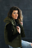 Stephanie Puffy Vest - boutique fashion - The Girls In Grey