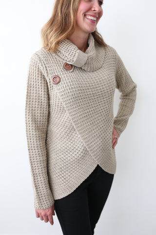 Addison Cowl Neck Sweater