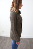 Addison Cowl Neck Sweater - boutique fashion - The Girls In Grey