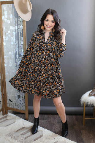 Corey Floral Dress