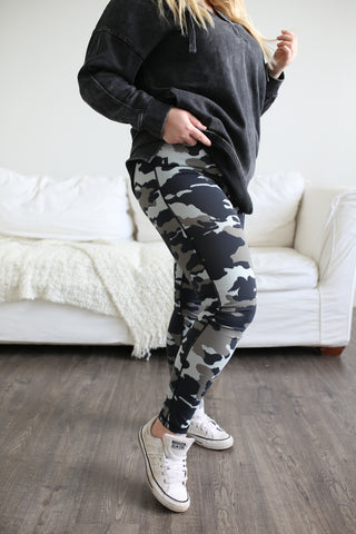 Quinn Jungle Camo Leggings