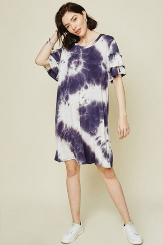 Lauren Tie Dye Dress