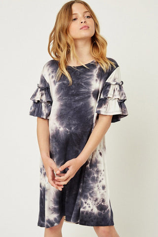 Girls Lauren Tie Dye Dress