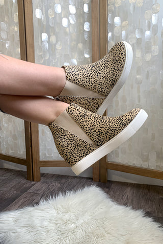 Matisse Wedge Sneakers Black Spot