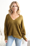 Gabby Pocket Sweater Cedar