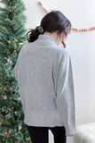 Tara Turtleneck Sweater Grey