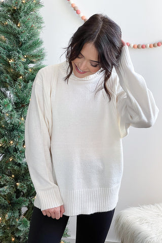 Tara Turtleneck Sweater Cream