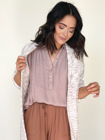 Willow Top Mauve