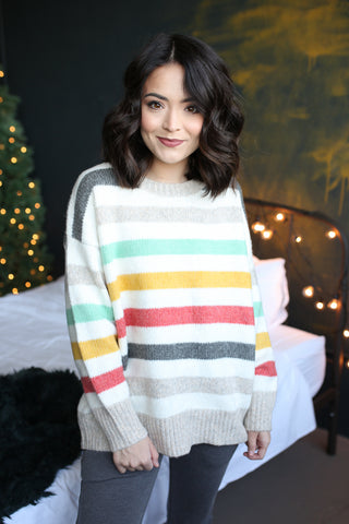 Carter Striped Sweater