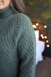 Mia Textured Sweater Seafoam
