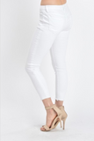 Leela white Denim Jeans - boutique fashion - The Girls In Grey