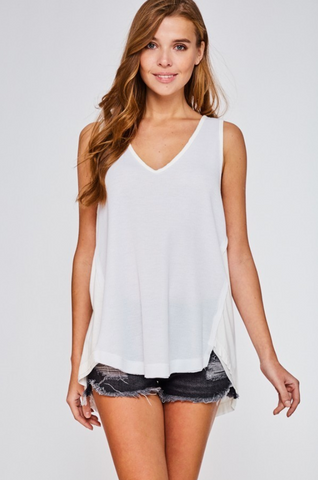 Willa Tank Top - boutique fashion - The Girls In Grey