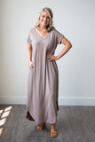 Aimee Jersey Dress - boutique fashion - The Girls In Grey