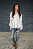 Aurora Distressed Jeans - boutique fashion - The Girls In Grey